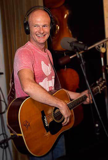 Richie Tipton Recording at County Line Studios