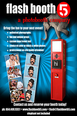 Flash Booth 5 Photo Booths